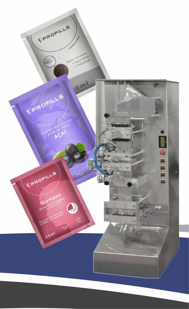 Embalagens no formato sachê e maior capacidade de produção